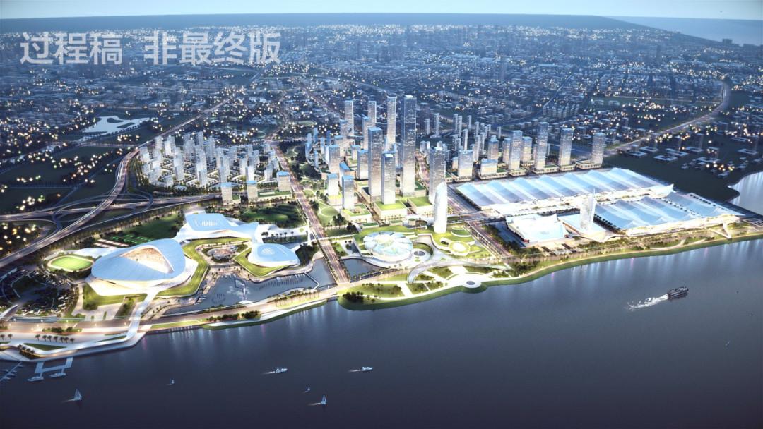 厦门新体育中心建设驶上快车道